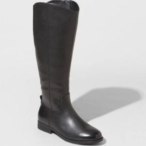 Brisa Wide Calf Riding Boots